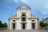 Basilica di Santa Maria degli Angeli - Assisi in Umbria - Italy — Stock Photo