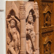Stock Photo: Sculptures of Jain tempel