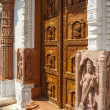 Stock Photo: Beautiful entrance to Jain Tempel
