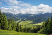 Scenery view in Maria Alm — Stock Photo
