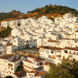 Stock Photo: Casares - white Spanish city