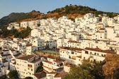Casares - white Spanish city — Stock Photo
