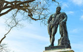 Statue of Hercules in Russia — Stock Photo