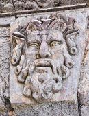 Stone face — Stock Photo