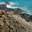 Stock Photo: Ghenh DDi(Ganh DDia), giant's basalt causeway. Tuy District, Phu Yen Province, Vietnam