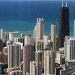 Stock Photo: Chicago downtown