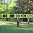 Police Line Do Not Cross — Stock Photo