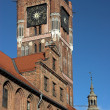 Town Hall in Torun - Stock Photo