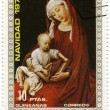 Madonna with Jesus child — Stock Photo