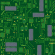 Electronic circuit board - Foto de Stock