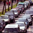 Stock Photo: Gridlocked street