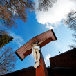 Jesus on cross — Lizenzfreies Foto