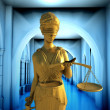 Themis in court — Stock Photo #13291658