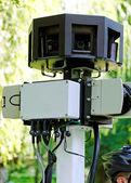 Surveillance camera — Stock Photo