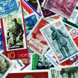 Collection of communists on postage stamps - Stock Photo