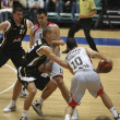 partita di basket — Foto Stock