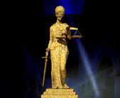 Themis no tribunal — Fotografia Stock