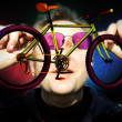 Professional freestyle bicycle — Stock Photo #13882116