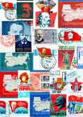 Communists collage — Stock Photo