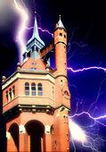 Castello di halloween — Foto Stock