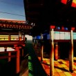 Zen buddhism temple — Stok Video #14075114