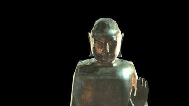 Golden Buddha — Stock Video