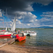 Yachts at marina — Stock Photo #14153042