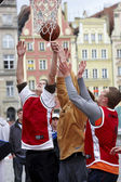 Championships in Streetball — Stock Photo
