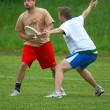 Stock Photo: Ultimate Frisbee Tournament