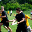 Ultimate Frisbee Tournament — Stock Photo