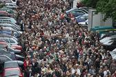 Religious procession in Wroclaw, Poland — Stock Photo