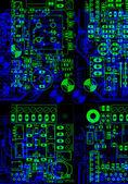 Tarjeta electrónica — Foto de Stock