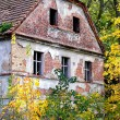 Foto Stock: Ruined mansion