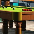 Snooker room — Stock Photo