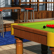 Snooker room - 图库照片