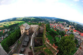 Ancient castle of Bolkow, Poland — Stock Photo