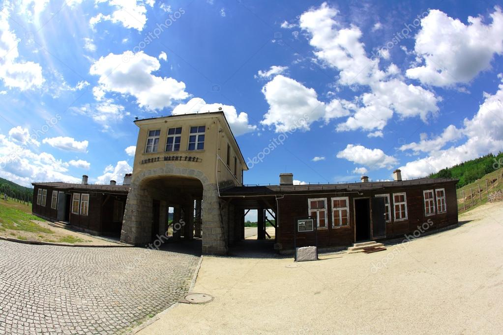 Former Nazi concentration camp Gross-Rosen in Poland — Stock Photo #14231401