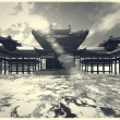 Zen buddhism temple — Foto Stock