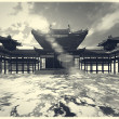 Zen buddhism temple — Stockfoto