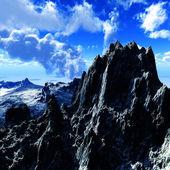 Volcanic eruption — Foto Stock