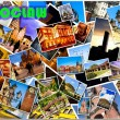 European city in collage — Stock Photo