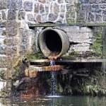 Sewage pipe — Stock Photo #15369043