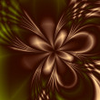 Awesome fractal background — Stock Photo