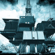 Stock Photo: Oil platform