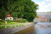 Pilchowice Dam — Stock Photo