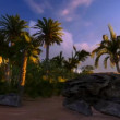 Tropical paradise — Wideo stockowe #17413003