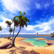 Hawaiian paradise — Stock Photo #18830505