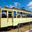Tramway depot — Stock Photo
