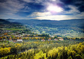 Karkonosze Mounatains in Poland — Stock Photo