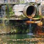 Sewage pipe — Stock Photo #19168359